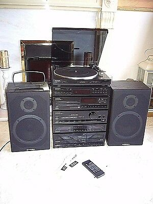 Quality Pioneer Hi-Fi System with Pioneer Speakers