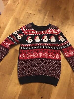 Boys Christmas Jumper Size 9-10 Years