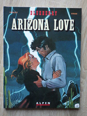CHARLIER GIRAUD Lieutenant Blueberry ARIZONA LOVE DL Ocotbre 1990 EO