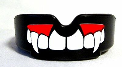 New Blood Fangs Gum Shield Mouth Guard Teeth Protector Boxing Wrestling - Senior