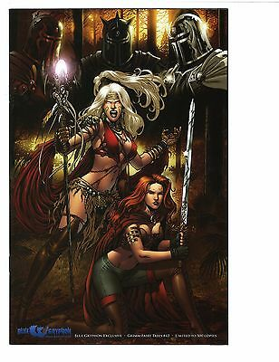 """Grimm Fairy Tales 42 Comic """"Chase"""" Blue Grypon Exclusive Rio Variant LTD 500 NM"""