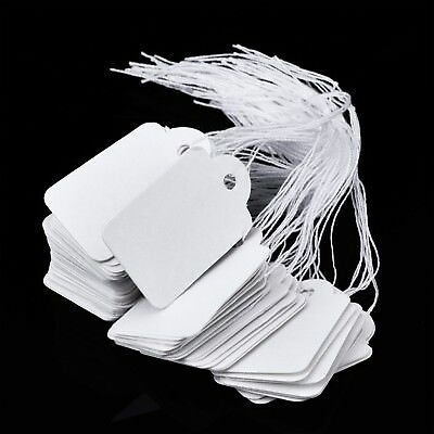 Price Tags With String 500 Packs Knotted Add Remove Rectangular Tag Easily