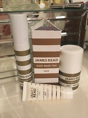 JAMES READ self tan face