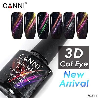 CANNI 3D Cat Eye Chameleon Gel Varnish Nail Art Manicure Christmas NewYears Art