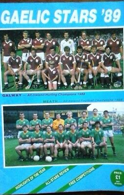 Gaelic Stars 1989 Features Meath & Galway