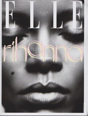 RIHANNA / Subscribers Cover ELLE Magazine October 2017