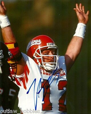 Fresno State Trent Dilfer Autographed Signed 8x10 Photo COA