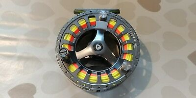Greys GTS 900 fly reel boxed with line
