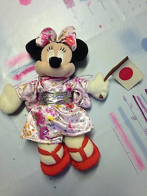 """Japanese Minnie Mouse - Walt Disney World Official Doll - 9"""" - Minnie Mouse"""