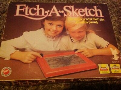 Etch A Sketch / Peter Pan Playthings / Fully Functional 1980's Vintage