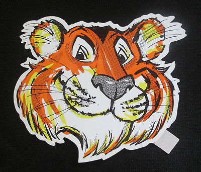 2 Vintage 1960's-70's EXXON/ESSO TIGER MOBIL OIL GAS Racing Sticker
