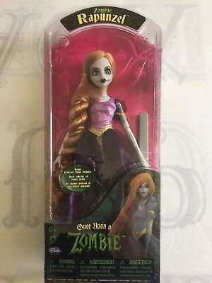 Once Upon a Zombie Rapunzel Doll BNIB