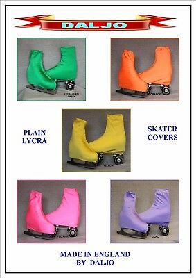 Ice Skating / Roller Skate Plain Lycra Boot Covers