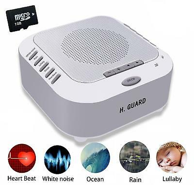 White Noise Machine Sleep Sound Therapy Machine Bedside Light Baby Kids Adults