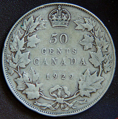 Canada George V 1929 50 Cents