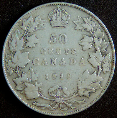 Canada George V 1918 50 Cents