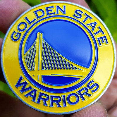 PREMIUM NBA Golden State Warriors Poker Card Guard Collector Coin Golf Marker