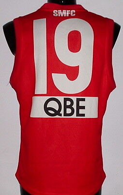 Michael O'Loughlin AFL Sydeny Swans Australia Rules match game worn jersey shirt