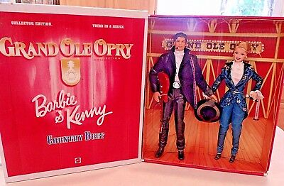 Barbie & Ken Collectors Edition Of Grand Ole Opry Stunning Dolls Mint Nrfb 1998