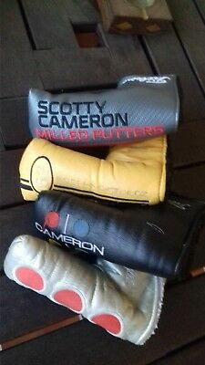 Excellent Titleist Scotty Cameron Headcovers