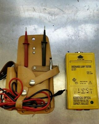Beha Discharge Lamp Tester Lt 277 Acoustical Optical Ac/dc Capacitor Ballast