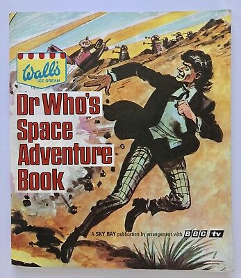 Walls Ice Cream Dr Who's Space Adventure Book BBC - Immaculate Very RARE 1960s