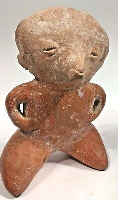 Ancient Pre Columbian Chinesco Figure - Nayarit, Mexico, Ca 300 BC to 300 AD