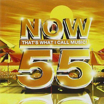 Now That's What I Call Music 55 2 Disc CD FREE SHIPPING