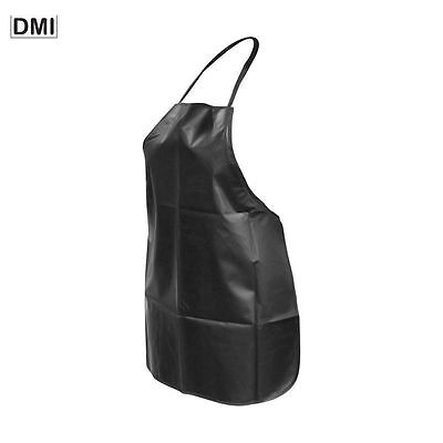 Dmi Essentials Standard Tint Proof Apron Hairdressing Waterproof Pvc Black