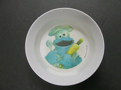 A Vintage Muppets 1977 Cookie Monster Bowl. Artisan Ware. 1971/1977.