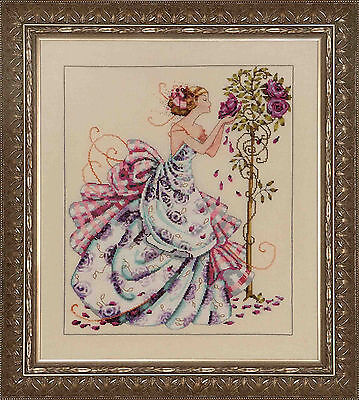 Roses of Provence - Cross Stitch Chart - Free Postage