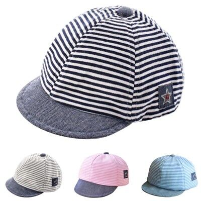 Boys Girls Kids Baby Toddler Newborn Peaked Hat Beret Sun Baseball Snapback Cap