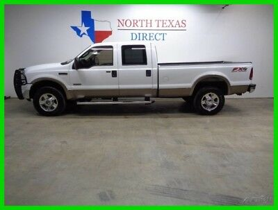 2005 Ford F-350 Lariat 4WD Diesel Leather Heated Seats Long bed 2005 Lariat 4WD Diesel Leather Heated Seats Long bed Used Turbo 6L V8 32V