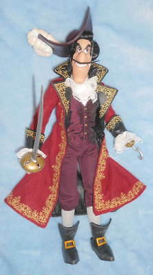 "Disney Store Designer Fairytale Heroes Vs Villains LE CAPTAIN HOOK 12"" 1/6 DOLL"