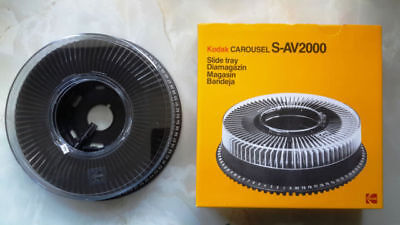 Kodak S-AV 2000 carousels for slide projector