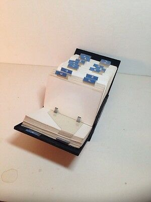 Vintage Rolodex V File Model No. V546 Phone Book Address Organizer