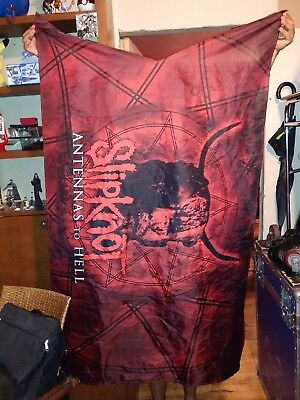 SLIPKNOT 2012 ANTENNAS TO HELL poster Banner cape very large heavy metal ozzfest