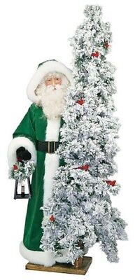 """Ditz Designs Snowy Greensleeves Father Christmas 57"""""""