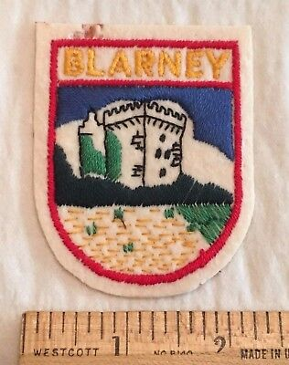 Blarney Castle Cork Ireland Irish Souvenir Felt Patch