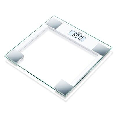 Beurer Bathroom Scales Weight Digital Electronic LCD 150 kg Glass GS14 755.40