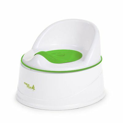 CHILDWOOD 3-in-1 Potty Baby Toddler Training Toilet Safety Green+White CHPSTG