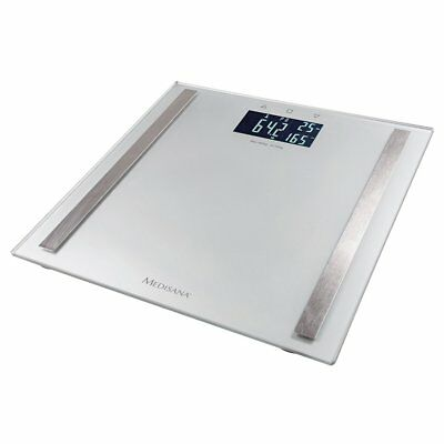 Medisana Body Fat Analysis Bathroom Weight Scales BS 482 180 kg Sliver 40438