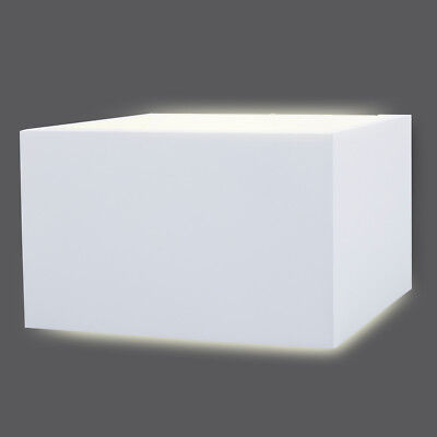 SMARTWARES Up and Down LED Wall Light Lamp In/Outdoor 9 W White GWI-002-HW