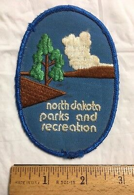 North Dakota Parks and Recreation ND State Park Service Embroidered Patch