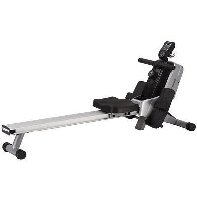 Powerpeak Magnetic Rowing Machine Fitness Home Gym 3 kg Grey and Black FRM8335
