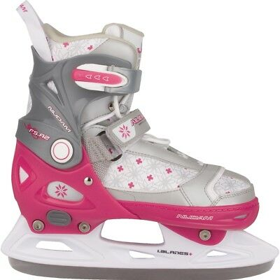 Nijdam Girl Kids Ice Figure Skates Boots with Blades Size 37-40 3121-FZW-37-40