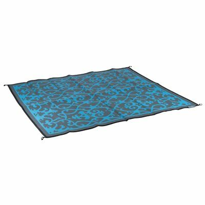 Bo-Leisure Outdoor Rug Camping Blanket Mat Chill mat Picnic 2x1.8 m Blue 4271011