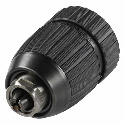 Wolfcraft Quick-Release Drill Chuck 1.5-13 mm Black Right/Left Rotation 2618000
