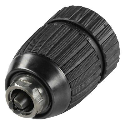 Wolfcraft Quick-Release Drill Chuck 1.5-13 mm Black Right/Left Rotation 2609000