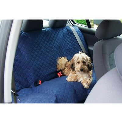 Beeztees Protective Dog Pet Car Seat Cover Blanket 140x120 cm Blue Deluxe 705208